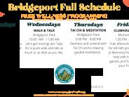 Bridgeport Fall Wellness Calendar 2021
