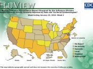 FluView - Weekly Influenza Surveillance Report