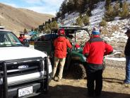 Aid to an injured hiker in the White Mountains