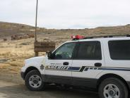 MCSO Unit in the historic Bodie Ghost Town