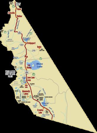 Mono County Map
