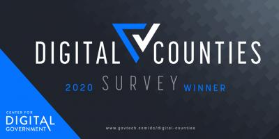 2020 Digital Counties Survey winner
