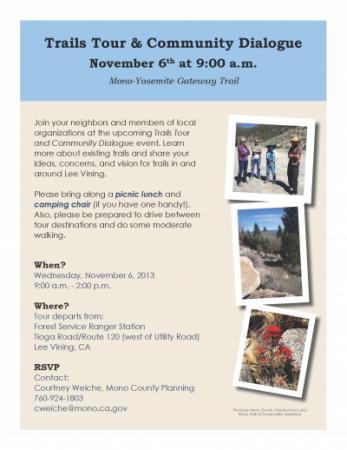 Trails Tour Flyer Nov 6