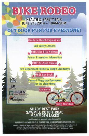 Health and Safety Fair flyer