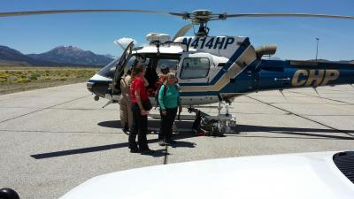 Aid to a lost backcountry hiker