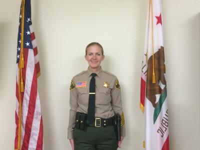 Sheriff-Coroner Ingrid Braun