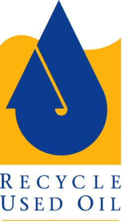 Recycle Used Oil Logo