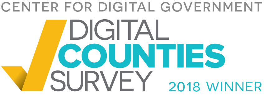 Digital Counties Winner 2018 logo