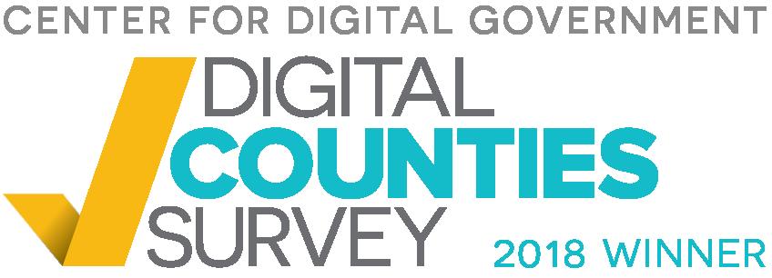 Digital Counties Winner 2018 logo