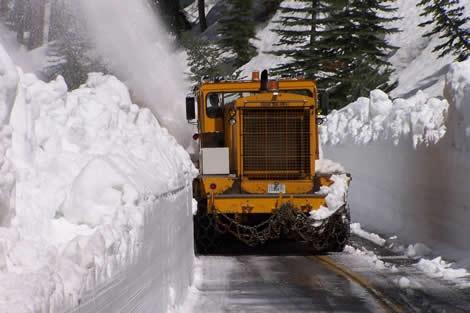 Snow Removal & County Road Maintenance   Mono County California