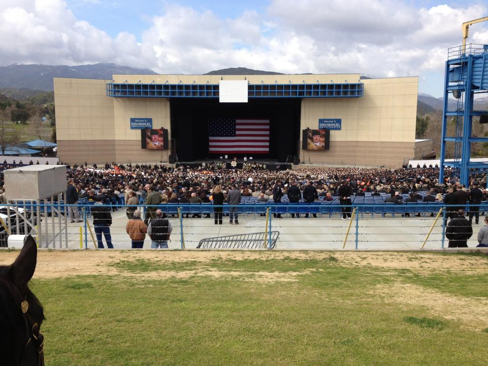 Mono County Sheriff\'s Office Personnel pays final respects to fallen ...